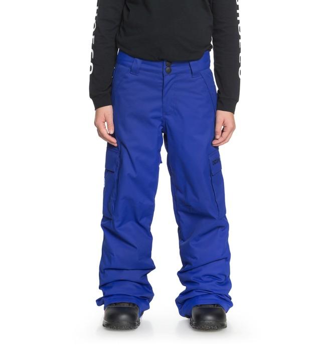 0 Boy's 8-16 Banshee Snow Pants Purple EDBTP03009 DC Shoes