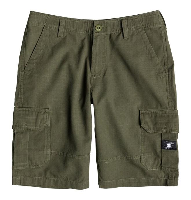 0 Boy's 8-16 Ripstop Cargo Shorts  EDBWS03016 DC Shoes