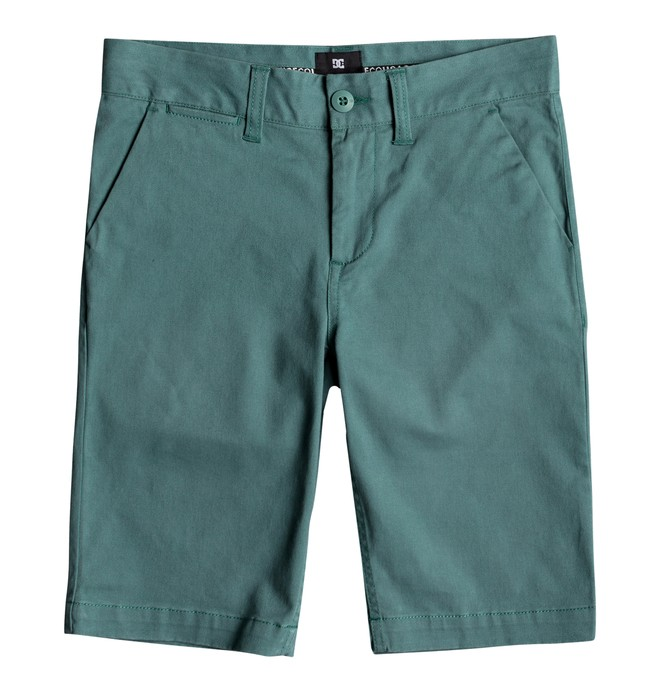 0 Boy's 8-16 Worker Chino Shorts  EDBWS03045 DC Shoes