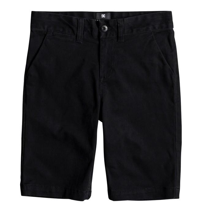 0 Worker - Chino Shorts für Jungen 8-16 Schwarz EDBWS03045 DC Shoes