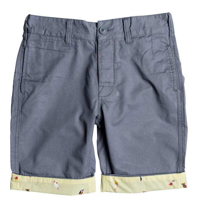 0 Boy's 8-16 Hidden Gem Chino Shorts  EDBWS03048 DC Shoes