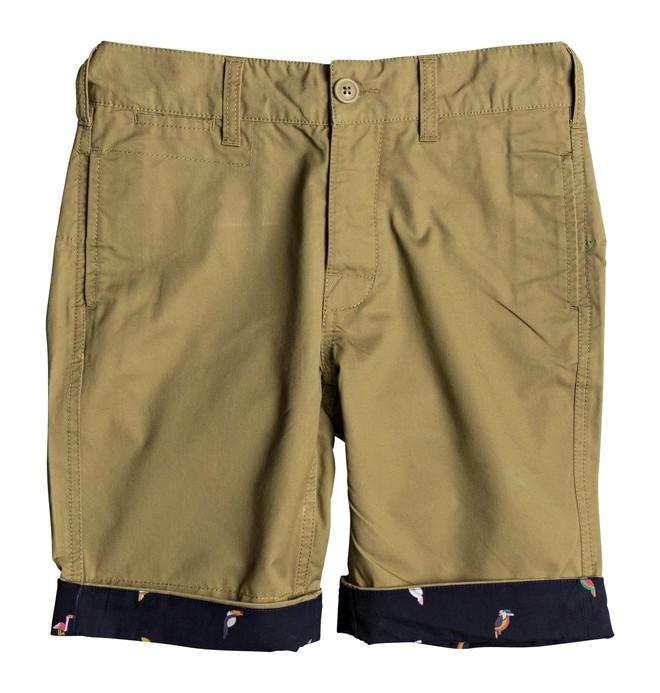 0 Hidden Gem - Chino Shorts für Jungen 8-16 Braun EDBWS03048 DC Shoes