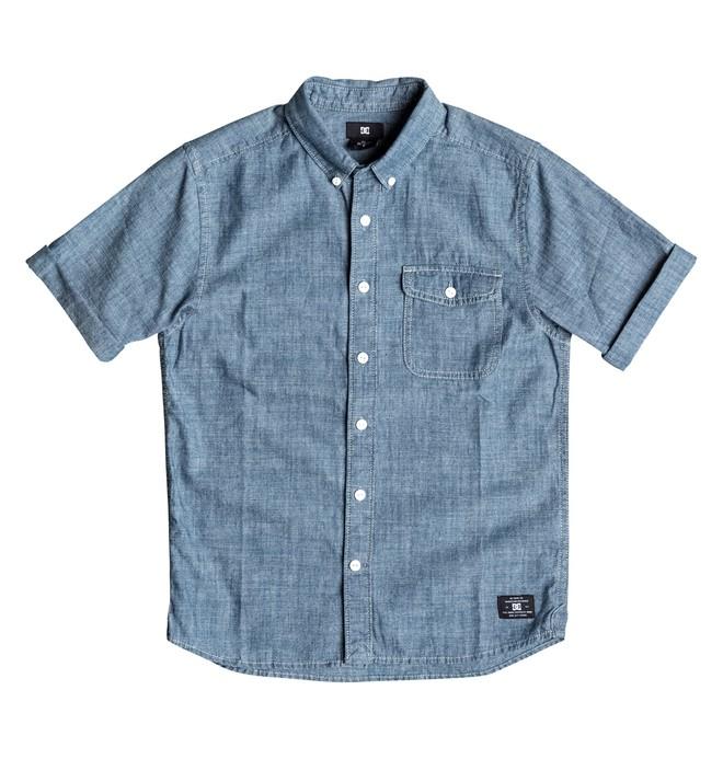 0 Riot Van - Short Sleeve Shirt  EDBWT03012 DC Shoes