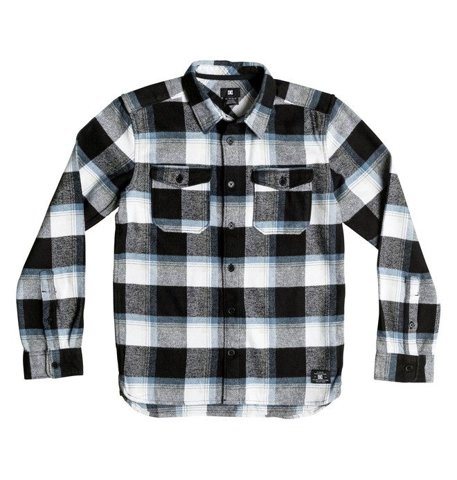 0 Boy's 8-16 Marsha Flannel Long Sleeve Shirt  EDBWT03017 DC Shoes
