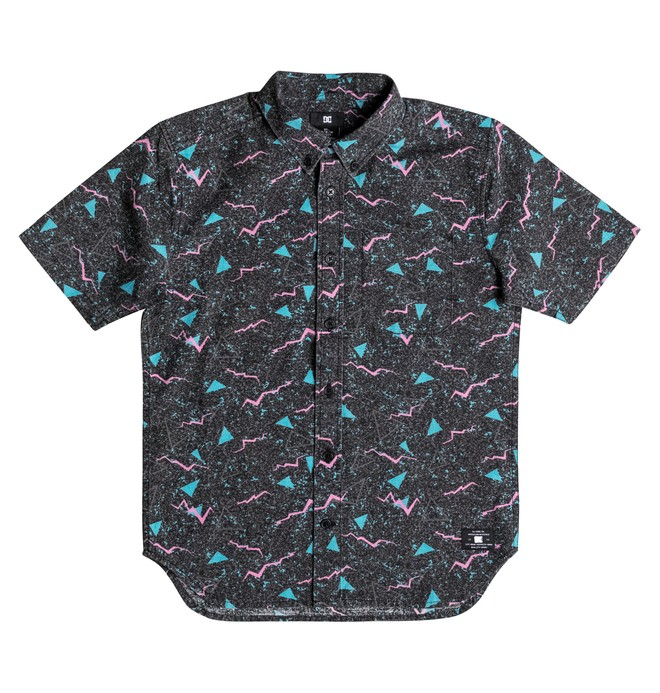 0 Odanah - Short Sleeve Shirt Black EDBWT03027 DC Shoes