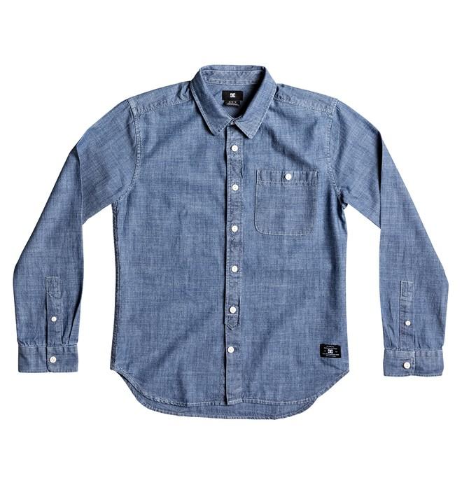 0 Kid's Arrowood Long Sleeve Shirt  EDBWT03031 DC Shoes