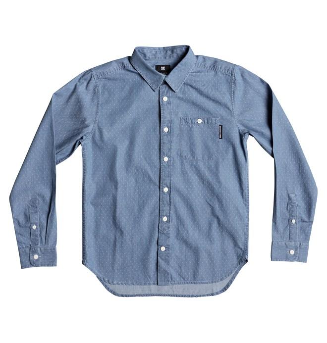 0 Boy's 8-16 Swalendalen Long Sleeve Shirt  EDBWT03045 DC Shoes