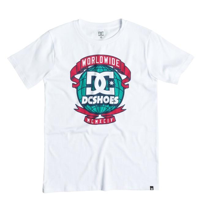 0 Around World - T-shirt  EDBZT03084 DC Shoes