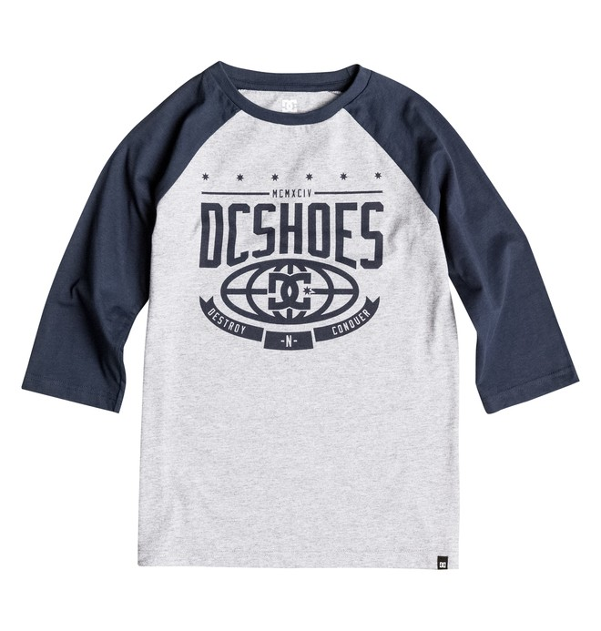 0 Boy's 8-16 The Creed Raglan Tee  EDBZT03143 DC Shoes