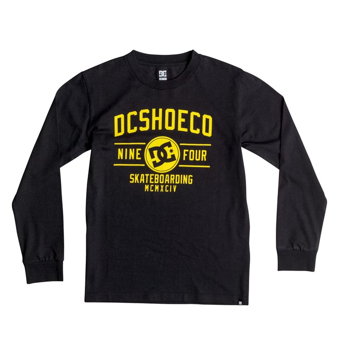 0 Boy's 8-16 Recover Long Sleeve Tee  EDBZT03178 DC Shoes