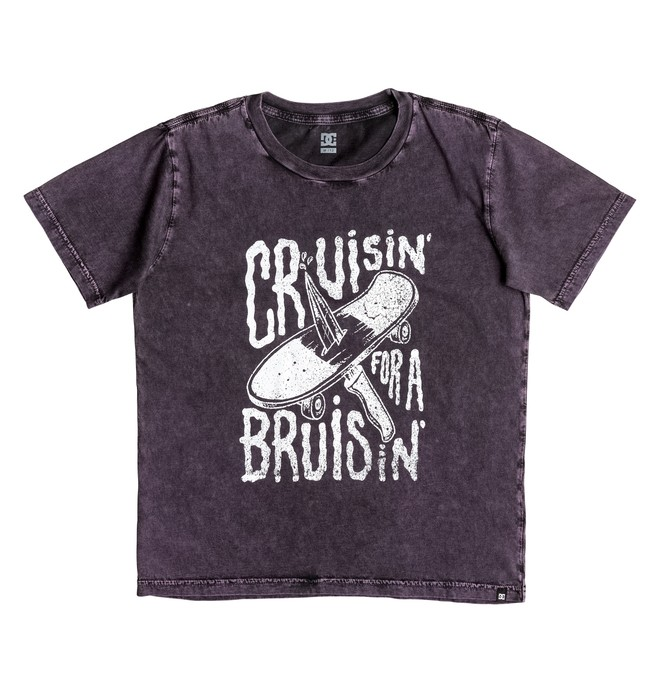 0 Cruiser Bruiser - Tee-Shirt Violet EDBZT03207 DC Shoes