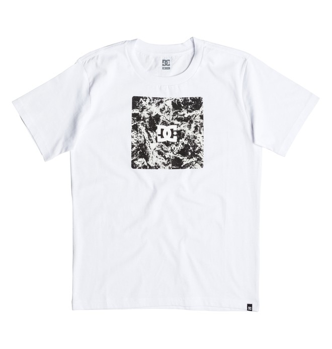 0 Storm Box - T-Shirt White EDBZT03213 DC Shoes