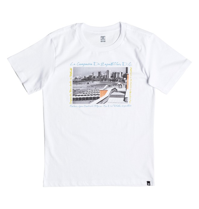 0 Madars Argentina - Tee-Shirt Blanc EDBZT03214 DC Shoes