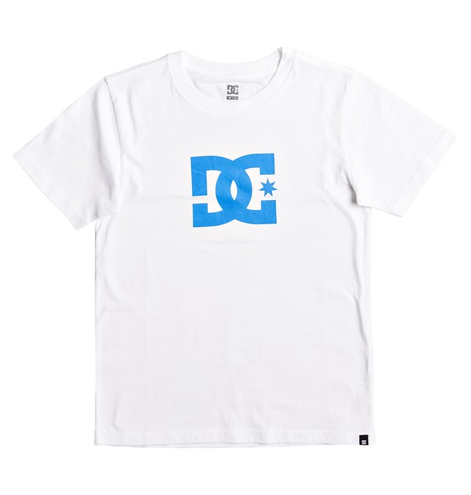 0 Boy's 8-16 Star Tee White EDBZT03227 DC Shoes