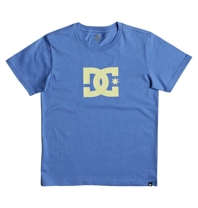 0 Star - T Shirt col rond pour Garçon 8-16 ans Bleu EDBZT03227 DC Shoes