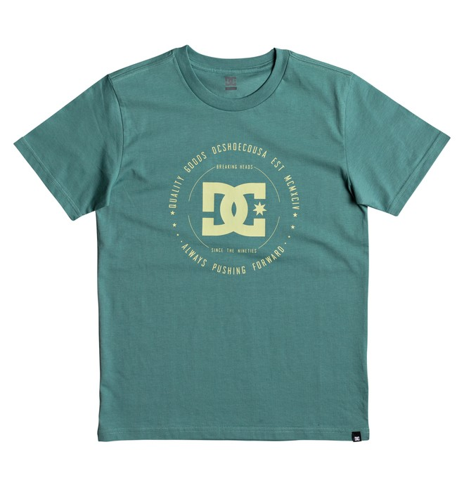 0 Rebuilt - T-Shirt Green EDBZT03228 DC Shoes