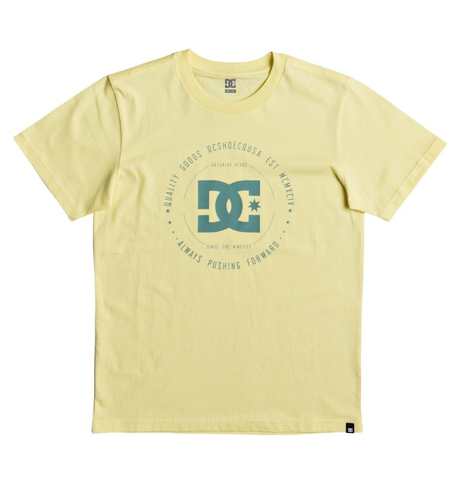 0 Rebuilt - T-Shirt for Boys 8-16 Yellow EDBZT03228 DC Shoes