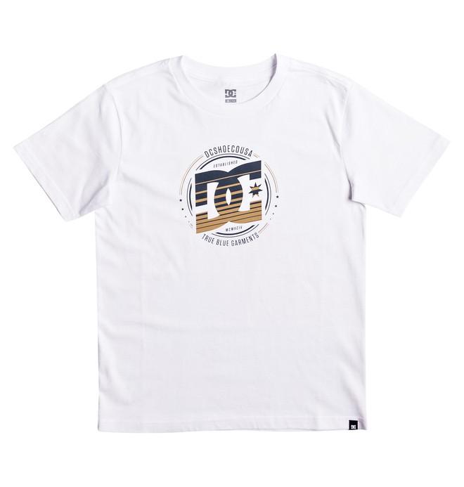 0 Heraldry - T Shirt Blanc EDBZT03236 DC Shoes