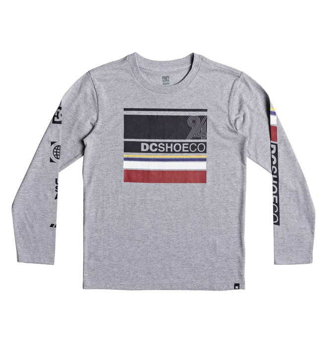 0 Boy's 8-16 Mad Racer Long Sleeve Tee  EDBZT03254 DC Shoes