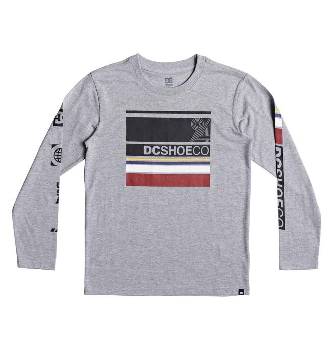 0 Mad Racer - T shirt manches longues Noir EDBZT03254 DC Shoes