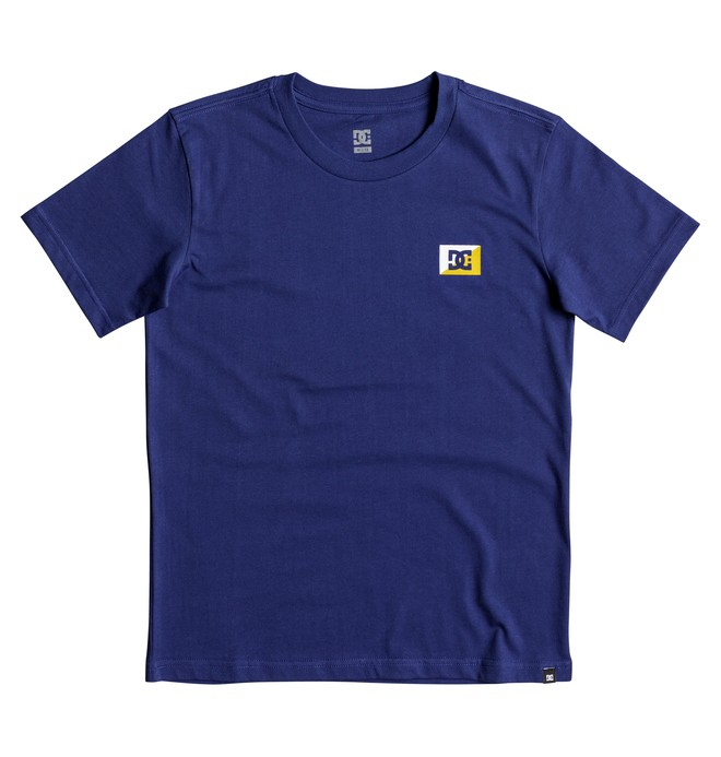 0 Boy's 8-16 Stage Box Tee  EDBZT03255 DC Shoes