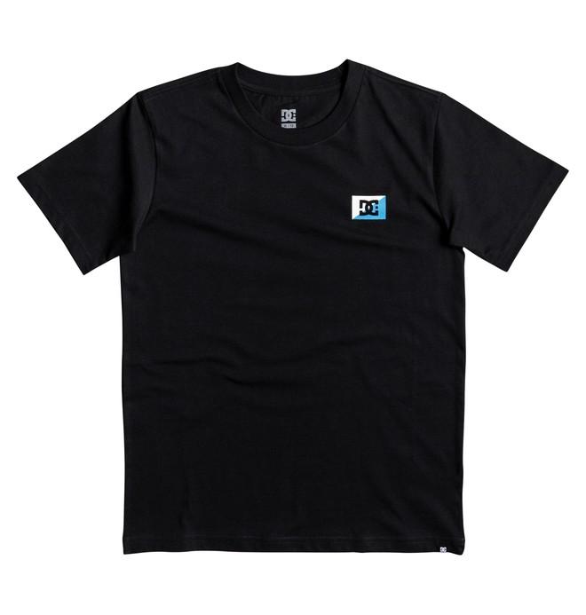 0 Stage Box - T Shirt col rond pour Garçon 8-16 ans Noir EDBZT03255 DC Shoes