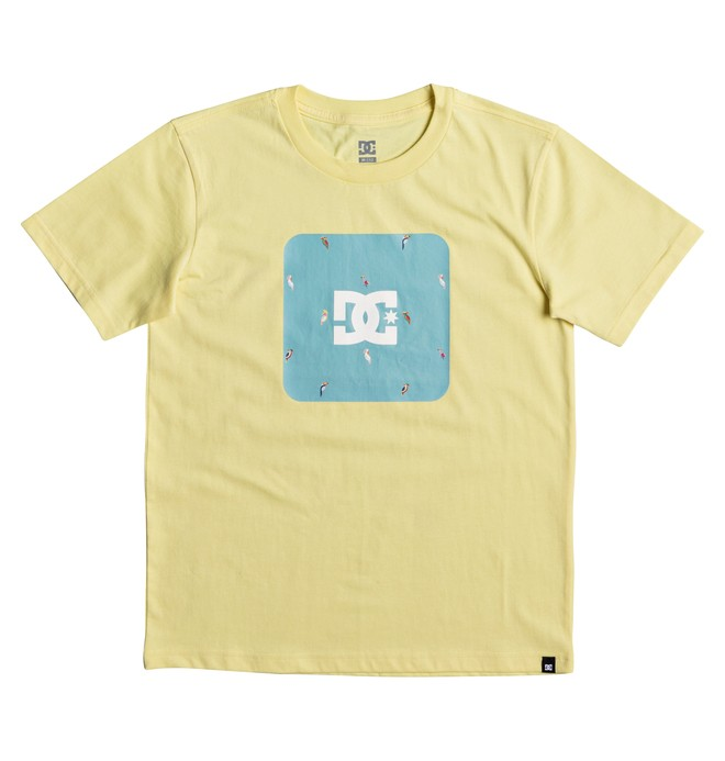 0 Shuffle Face - T-Shirt for Boys 8-16 Yellow EDBZT03257 DC Shoes
