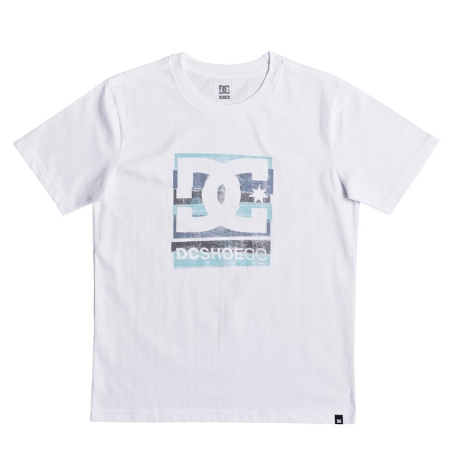 0 Rusted Panel - T-Shirt White EDBZT03258 DC Shoes