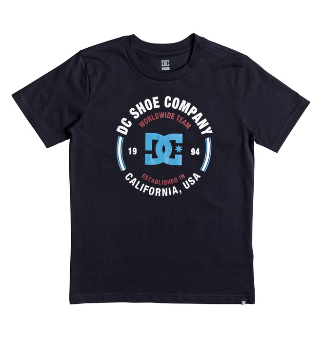 0 Boy's 8-16 Team Persist Tee  EDBZT03260 DC Shoes