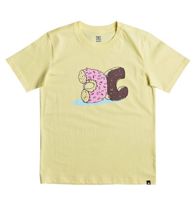 0 Donut Crush - T-Shirt for Boys 8-16 Yellow EDBZT03262 DC Shoes