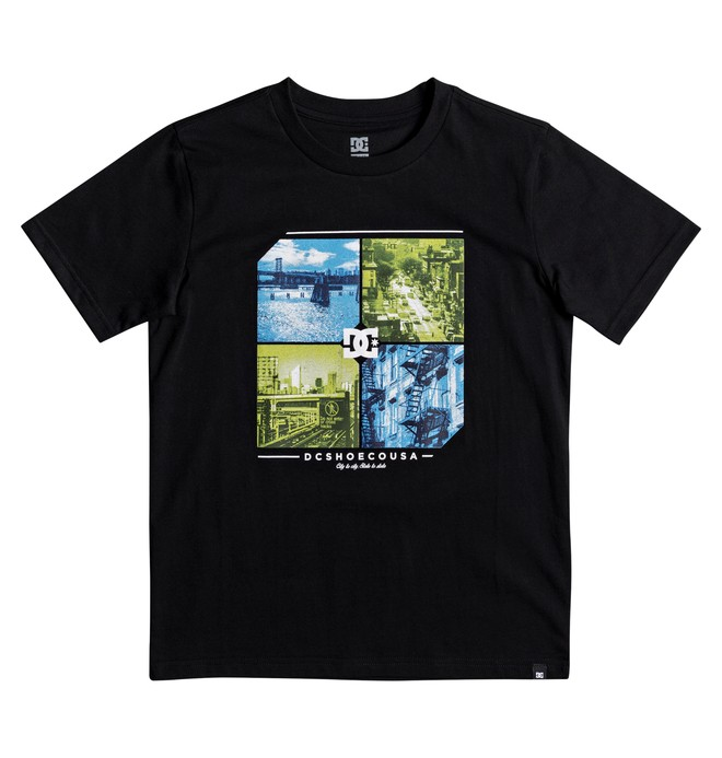 0 Boy's 8-16 City To State Tee  EDBZT03265 DC Shoes