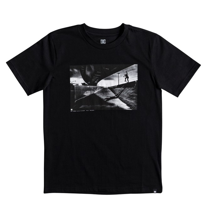 0 Boy's 8-16 Wes Switch Blunt Tee  EDBZT03268 DC Shoes