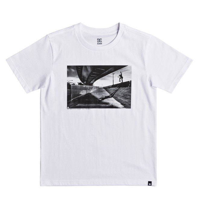 0 Wes Switch Blunt - T-Shirt for Boys 8-16 White EDBZT03268 DC Shoes