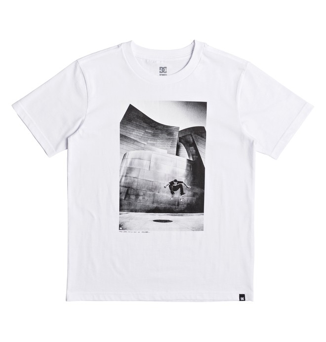 0 Tiago Switch Flip - T-Shirt for Boys 8-16 White EDBZT03269 DC Shoes