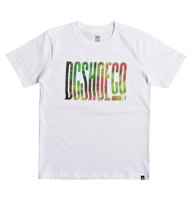 0 Trippy Typed - T-Shirt White EDBZT03272 DC Shoes
