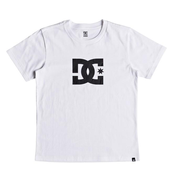 0 Star - Camiseta para Chicos 8-16 Blanco EDBZT03279 DC Shoes