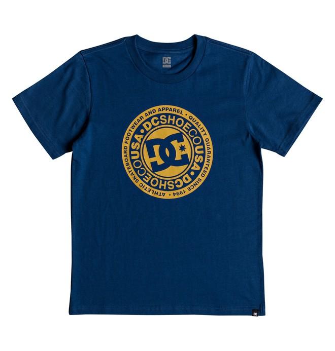 0 Circle Star - Camiseta para Chicos 8-16 Azul EDBZT03280 DC Shoes