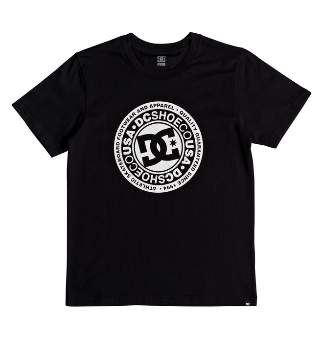 0 Boy's 8-16 Circle Star Tee Black EDBZT03280 DC Shoes
