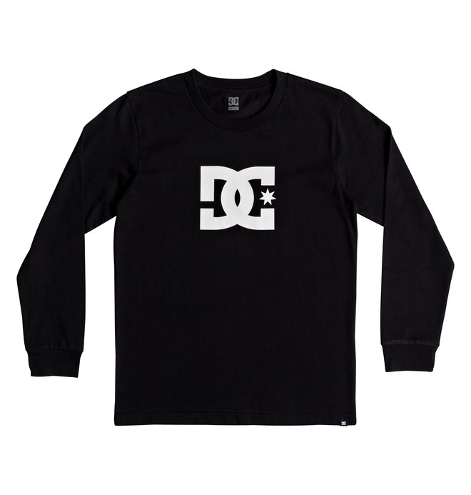 0 Star - Camiseta de manga larga para Chicos 8-16 Negro EDBZT03282 DC Shoes