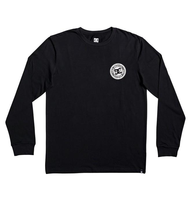 0 Circle Star - Long Sleeve T-Shirt for Boys 8-16 Black EDBZT03283 DC Shoes