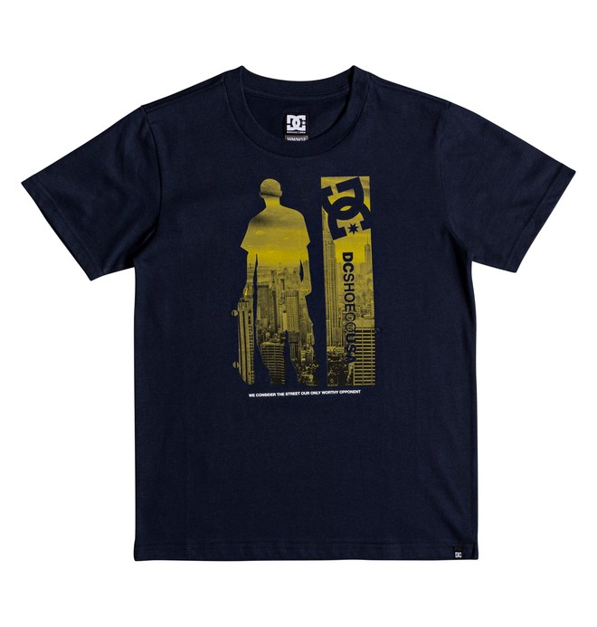 0 Boy's 8-16 Opponent Tee Blue EDBZT03285 DC Shoes