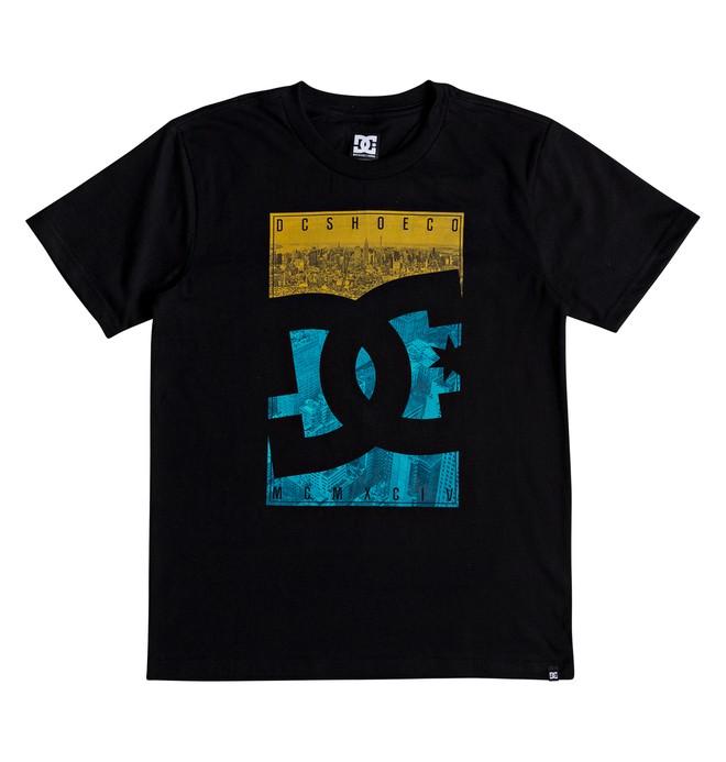 0 City Sky - T-shirt col rond pour Garçon 8-16 ans Noir EDBZT03287 DC Shoes