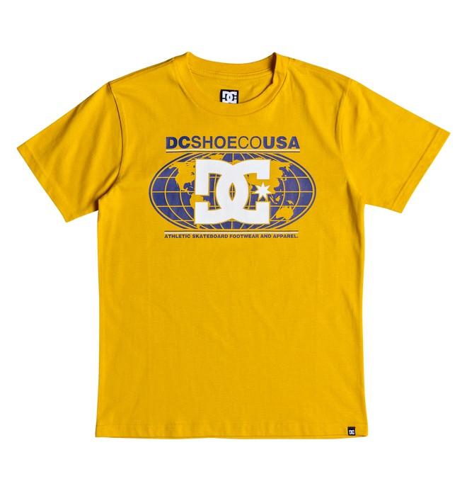 0 DC Global - T-shirt col rond pour Garçon 8-16 ans Jaune EDBZT03288 DC Shoes