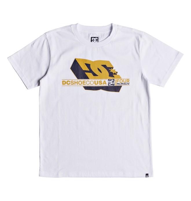 0 Ruler - Camiseta para Chicos 8-16 Blanco EDBZT03289 DC Shoes
