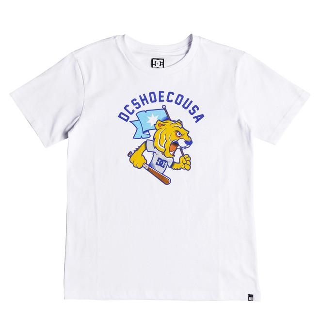 0 Tryger - Camiseta para Chicos 8-16 Blanco EDBZT03290 DC Shoes