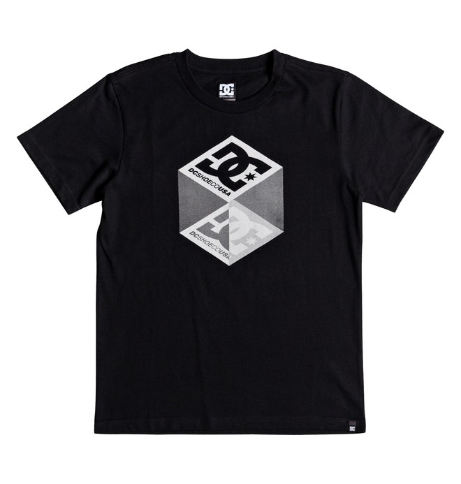 0 Boy's 8-16 Volume Tee Black EDBZT03293 DC Shoes