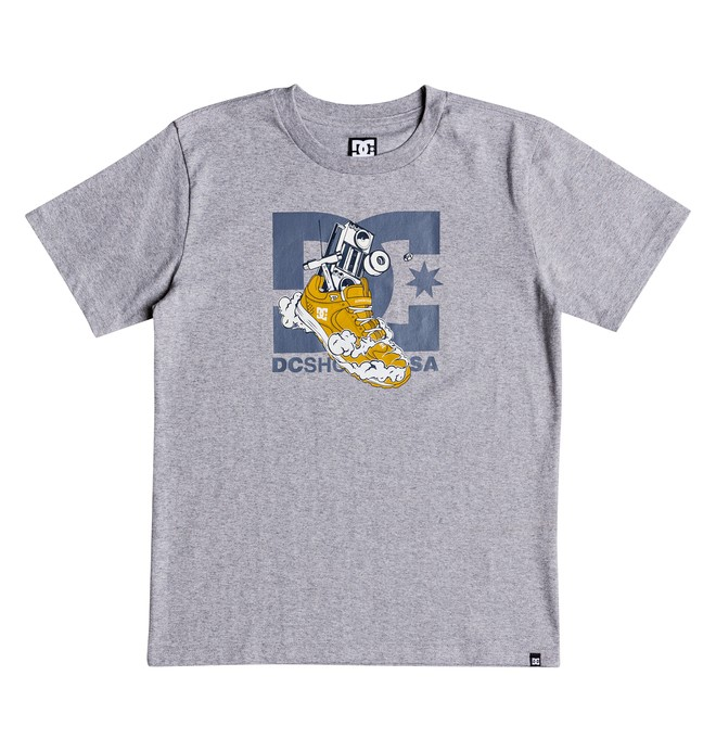 0 Kick Out - T-shirt col rond pour Garçon 8-16 ans Noir EDBZT03294 DC Shoes