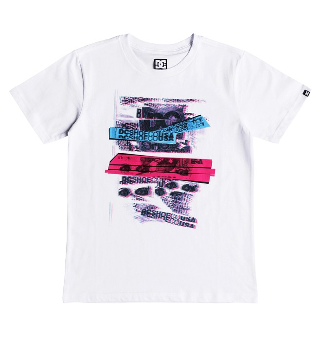 0 Repeater - Camiseta para Chicos 8-16 Blanco EDBZT03296 DC Shoes