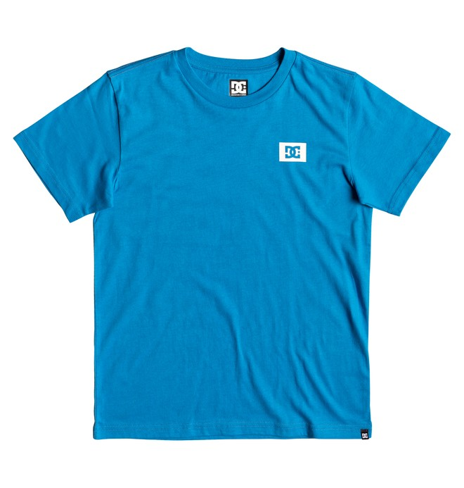 0 Stage Box T-Shirt Blue EDBZT03317 DC Shoes