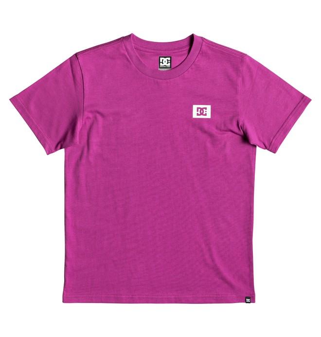 0 Stage Box T-Shirt Pink EDBZT03317 DC Shoes